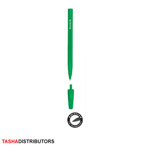iwrite-solid-barell-green-ballpoint-pen