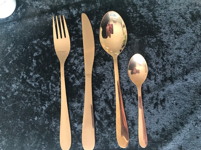 cutlery-rose-gold